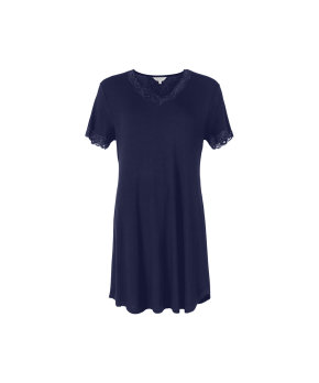 Lady Avenue - Bamboo Homewear Nightdress With Short Sleeve