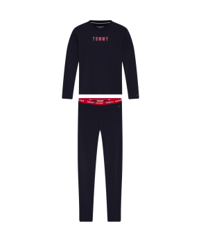 Tommy Hilfiger - Tommy Sleep Set Ls Legging