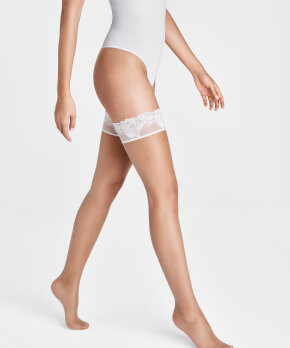 Wolford - Nude 8 Lace Stay Up