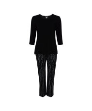 Lady Avenue - Bamboo Homewear Pyjamas W/ 3/4 Sleeve Top