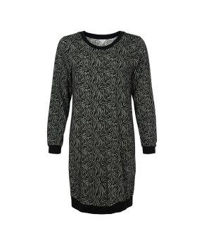 Lady Avenue - Bamboo Homewear Nightdress W/Long Sleeve
