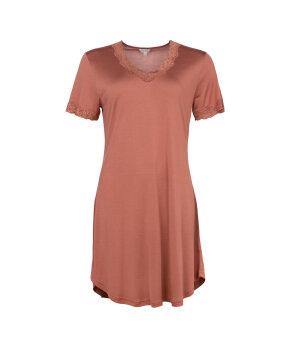 Lady Avenue - Silk Jersey Nightgown W/Sleeve